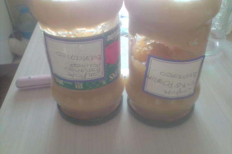 Compote pomme-banane-poire