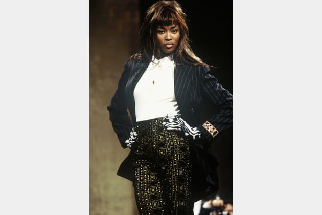 Naomi Campbell le 1er mars 1991