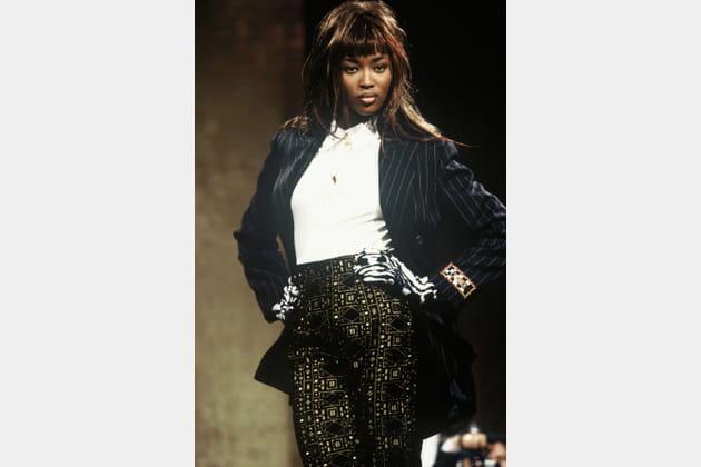 Naomi Campbell le 1er mars 1991