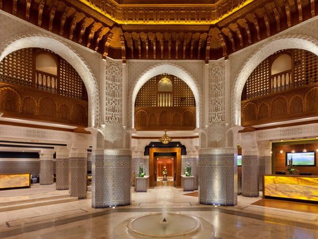 Palmeraie Palace : le hall d'entrée