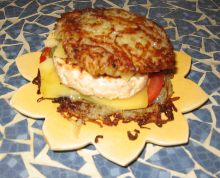 recette de hamburger maison sans pain la recette facile. Black Bedroom Furniture Sets. Home Design Ideas