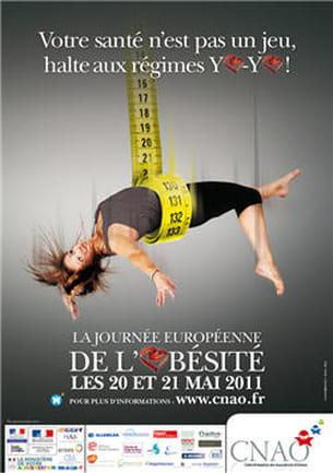20 et 21 mai : journées européennes de l'obésité.