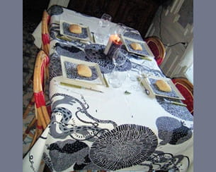 la table de bénédicte