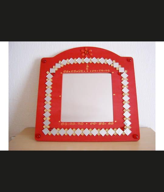 Miroir en mosaïque