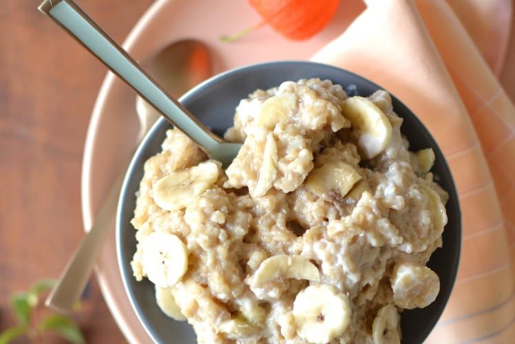 Riz gluant à la banane (Sticky rice)