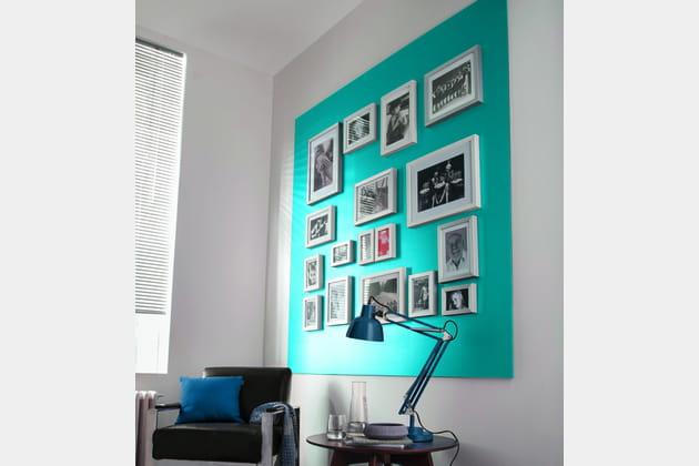 Peinture Bleu Pacifique parCastorama