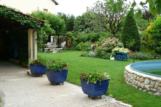 Le jardin bleu