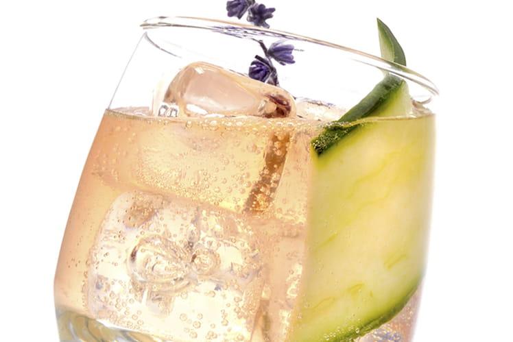 Cocktail Suze pêche de vigne et abricot