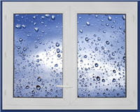 l'isolation des fenêtres permet de réduire l'entrée des bruits extérieurs.