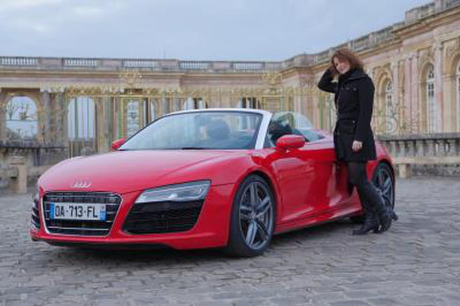 Essai Audi R8 Spyder