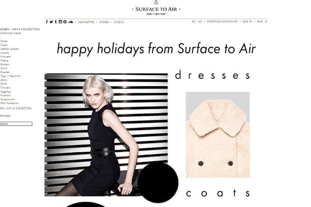 Le e-shop de Surface To Air