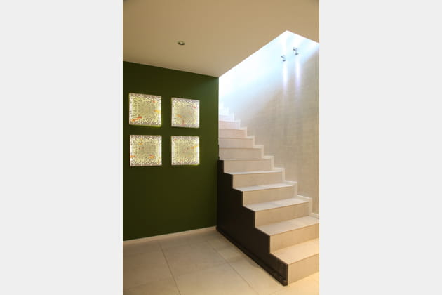 Un escalier contemporain