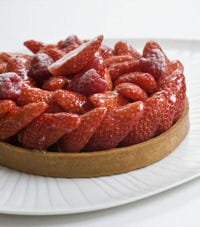 la tarte aux fraises gourmande de philippe conticini.