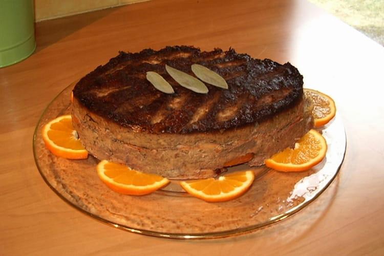 Terrine de viandes et foie à l'orange