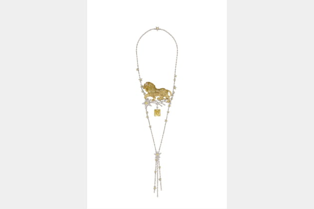 "Le collier ""Constellation du Lion"""