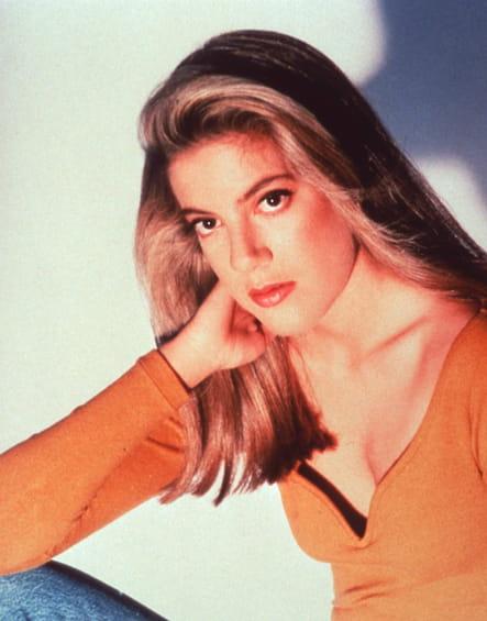 Les années 90 : Tori Spelling