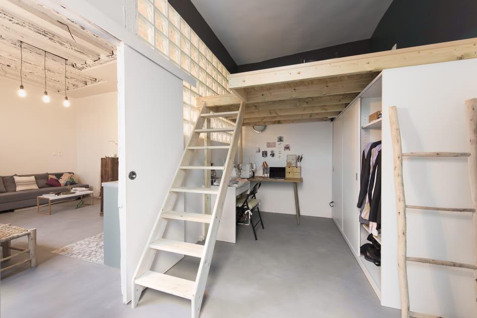 Libérer l'espace au sol grâce à la mezzanine