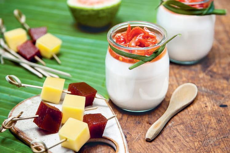 Queijo com goiabada - Fromage et pâte de goyave
