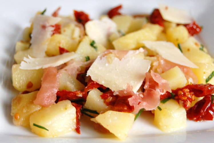 recette de salade de pommes de terre l 39 italienne la recette facile. Black Bedroom Furniture Sets. Home Design Ideas