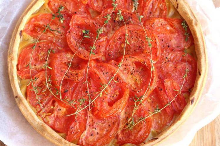 Tarte aux tomates provençale