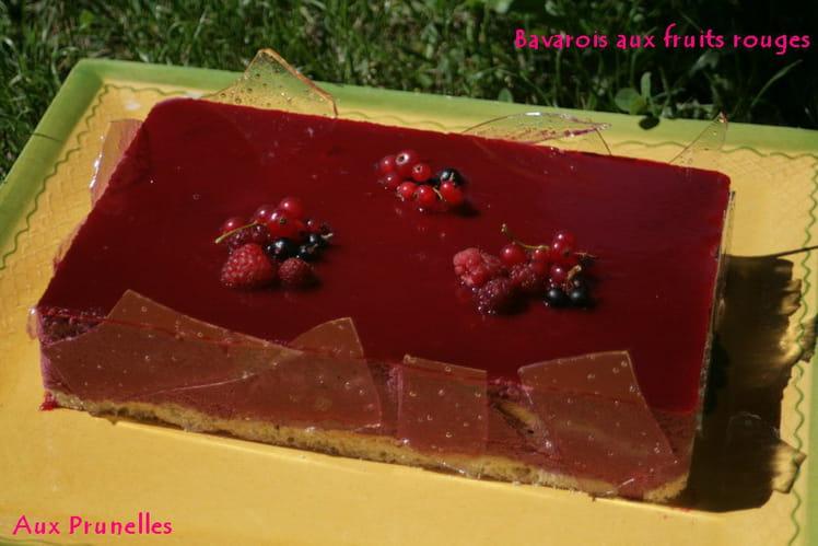 Bavarois aux fruits rouges ultra léger