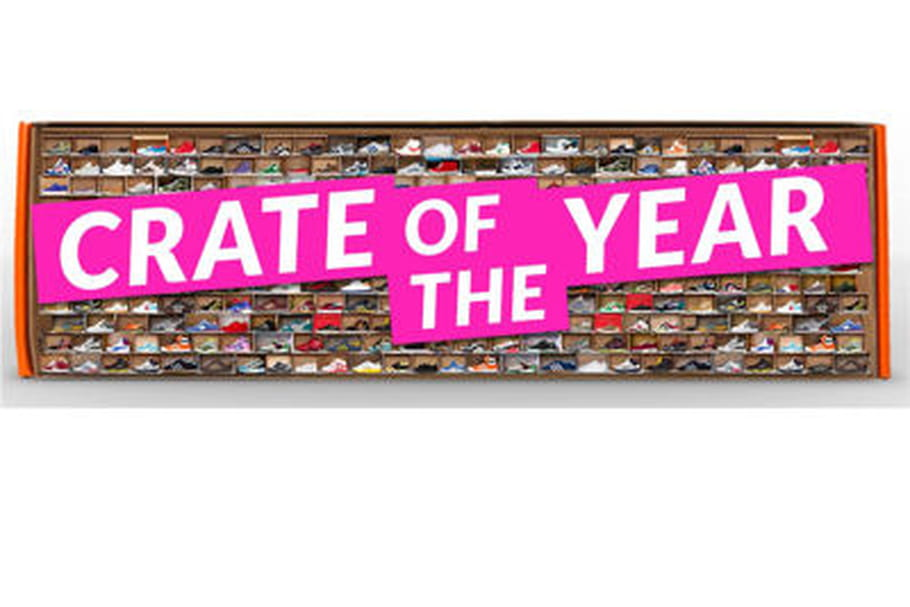 "Sneakerpedia lance le concours ""Crate Of The Year"""