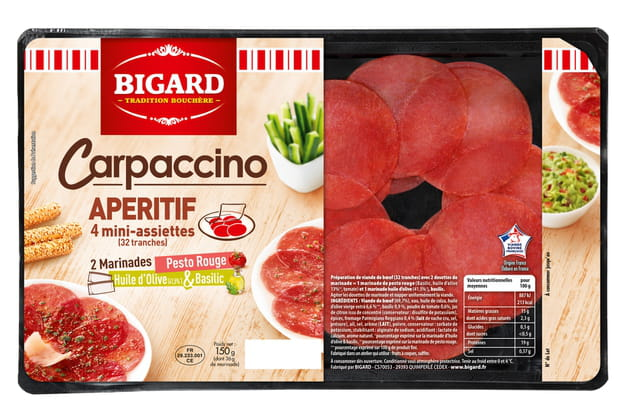 Le carpaccino de Bigard