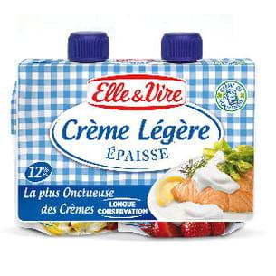 crème épaisse longue conservation d'elle et vire