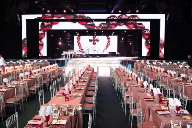 Un décor somptueux pour des invités prestigieux