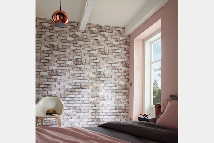 papier peint vinyle arcelot chez castorama. Black Bedroom Furniture Sets. Home Design Ideas