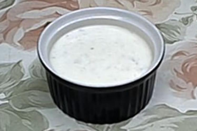 Champignons à la sauce yaourt