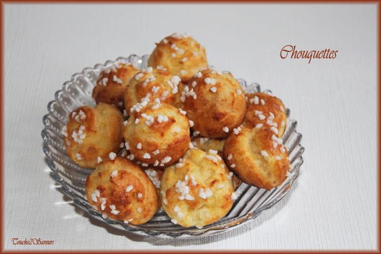 Chouquettes à la crème pâtissière