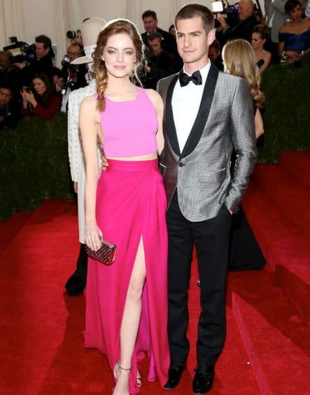 Emma Stone et Andrew Garfield Met Ball 2014