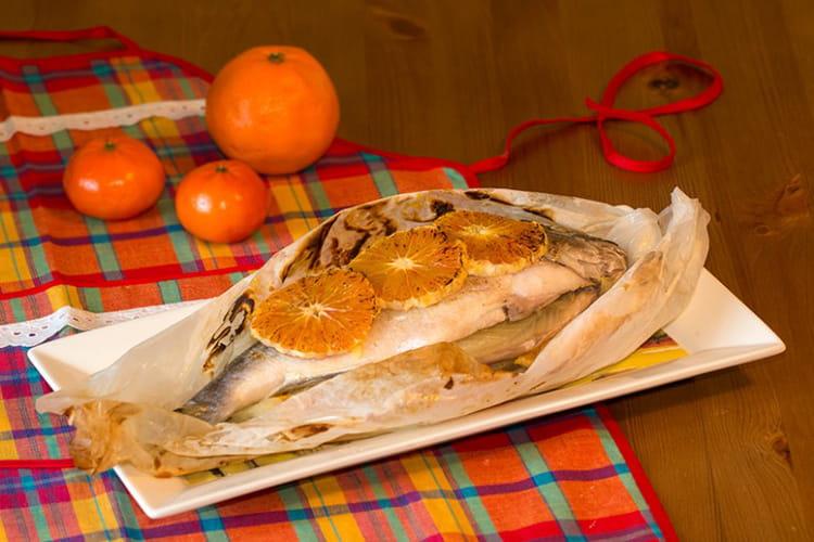 Recette de dorade en papillote fenouil et orange la for Dorade en papillote au barbecue