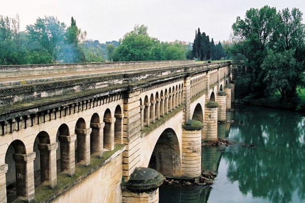 Le pont-canal de l'Orb