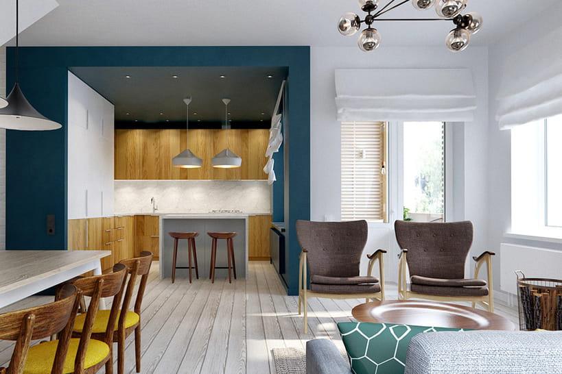 10 plafonds hauts en couleur rep r s sur pinterest. Black Bedroom Furniture Sets. Home Design Ideas