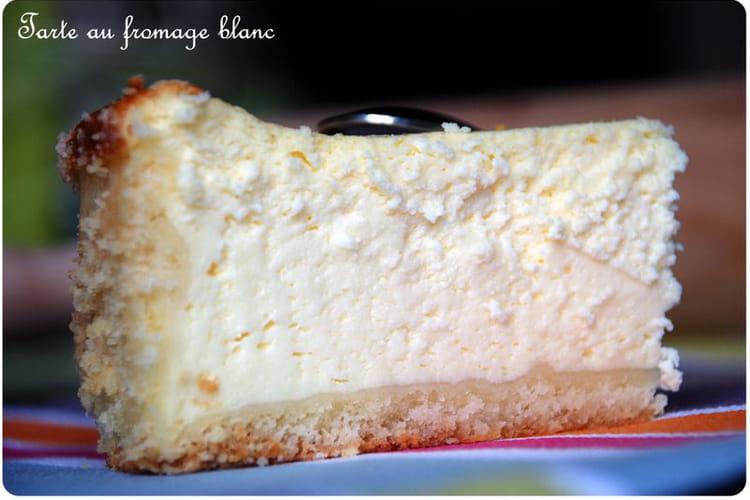 Tarte au fromage blanc aérienne