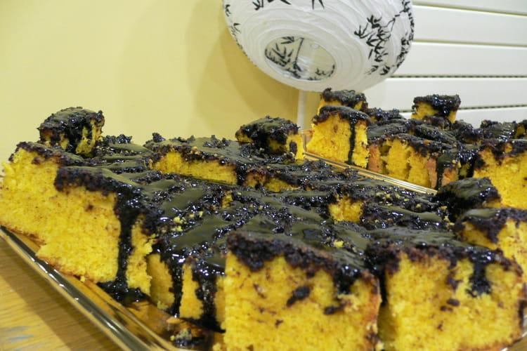 Gâteau carottes-chocolat
