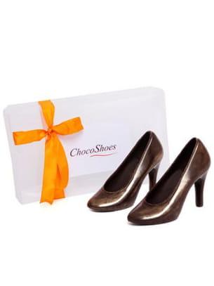 chaussures en chocolat de d'lys couleurs
