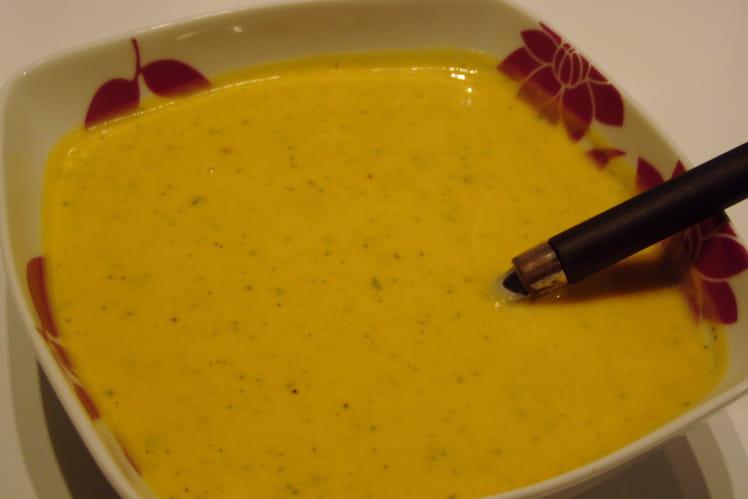 Soupe au potiron et mascarpone
