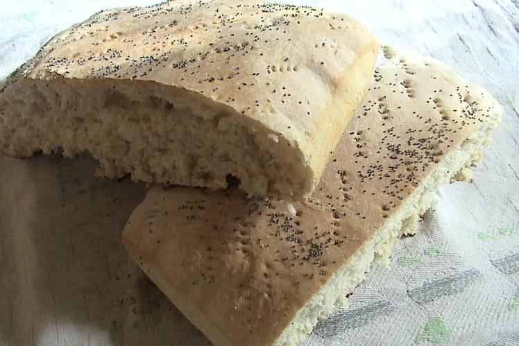 Pain marocain aux graines de pavot