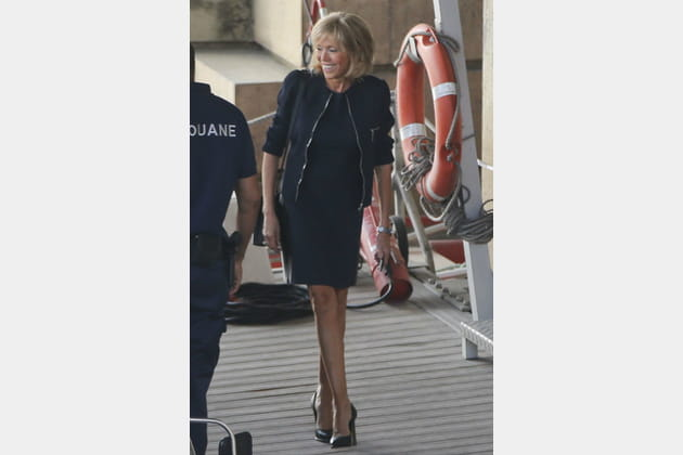 Brigitte Macron le 30août 2016