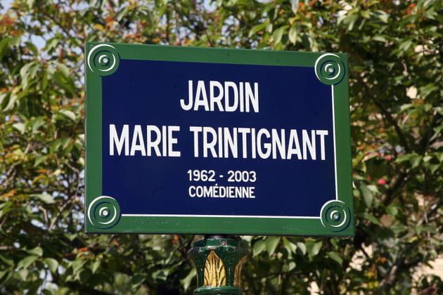 L'inauguration du jardin Marie Trintignant