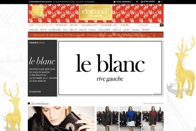 Le e-shop du Bon Marché