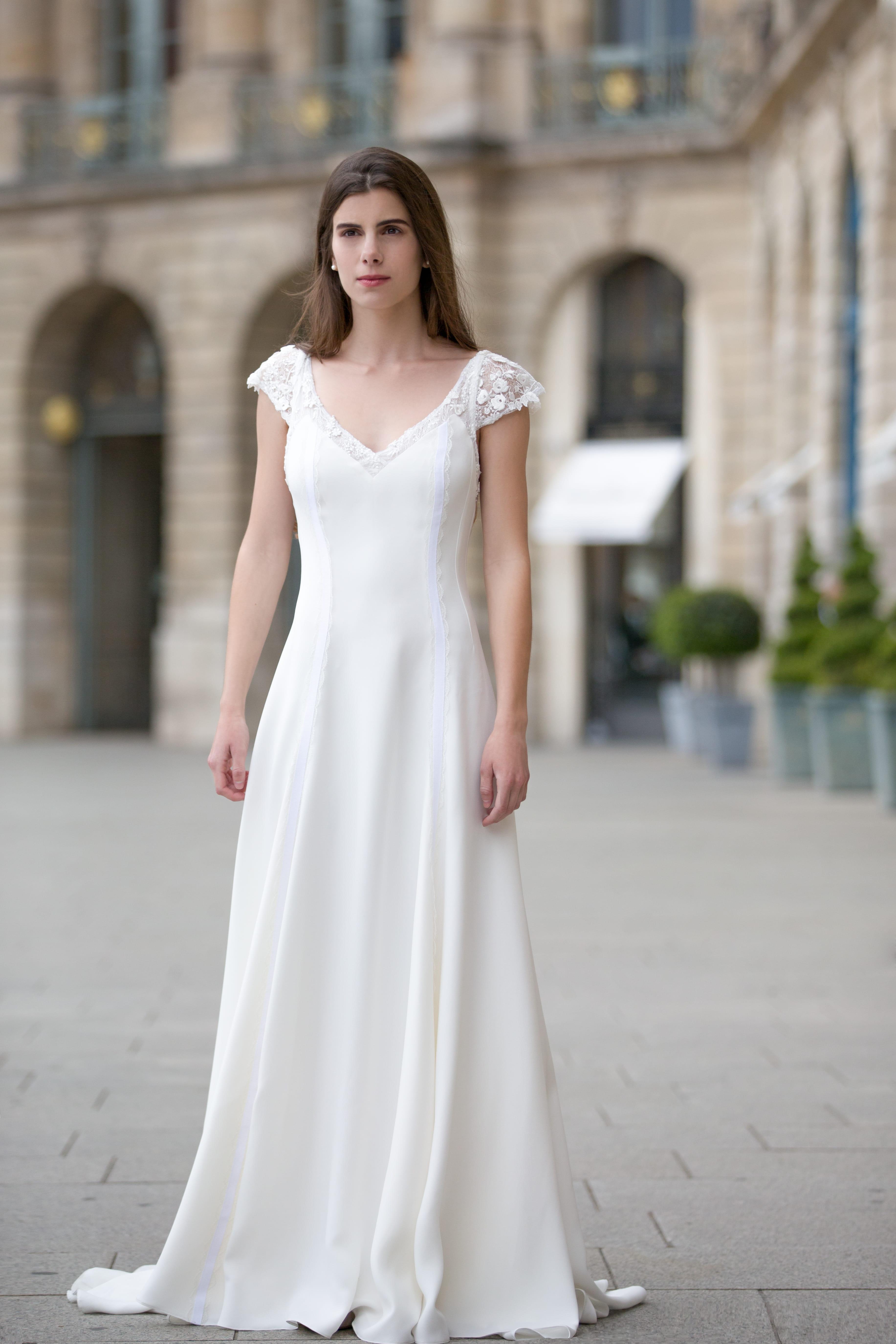 Robe de mari e champetre chic fashion designs - Robe de mariee romantique champetre ...