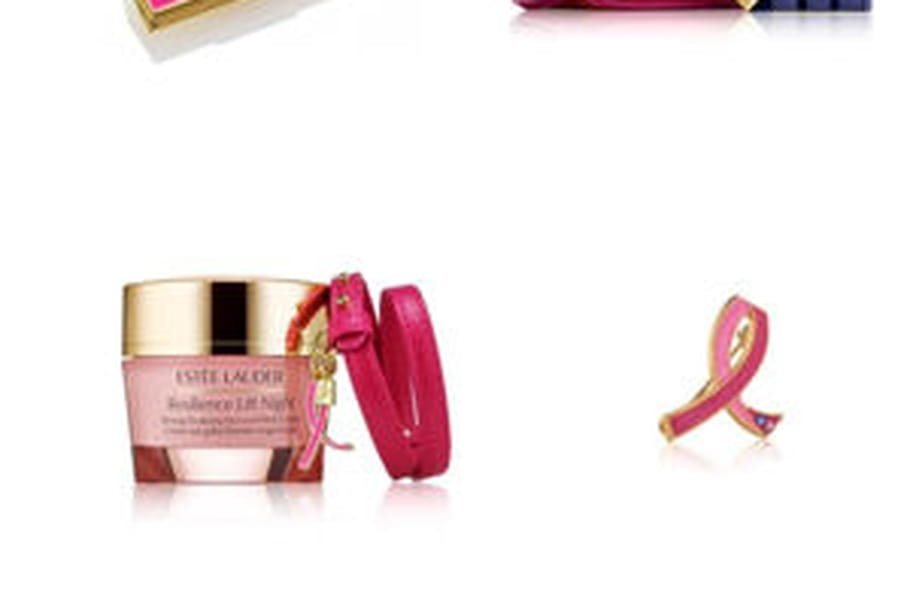 Estée Lauder lance une collection ruban rose