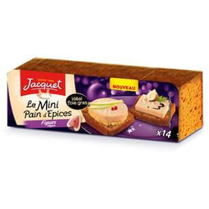 mini pain d'épices figues