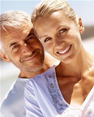 la chute des hormones sécrétées par les organes génitaux entraîne une baisse de