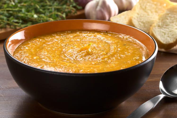 Soupe veloutée de légumes