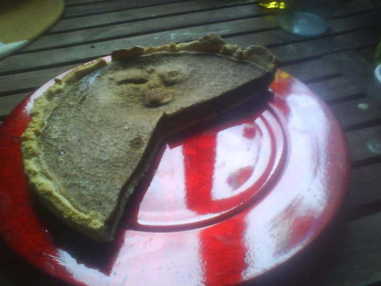 recette de tarte au chocolat noir extra fondant la. Black Bedroom Furniture Sets. Home Design Ideas